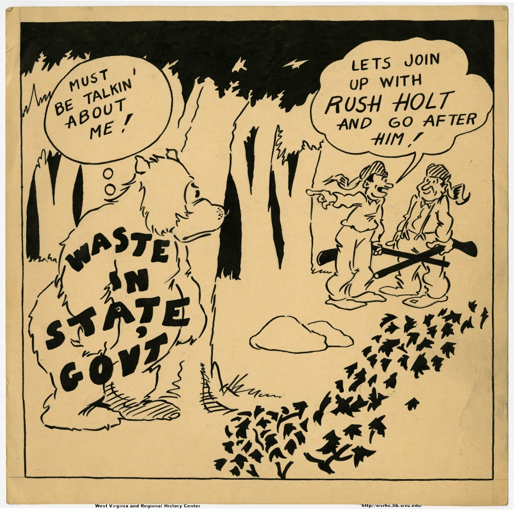 """Must be talkin about me!"" ""Let's join up with Rush Holt and go after him!"" (Waste in state gov't.)"