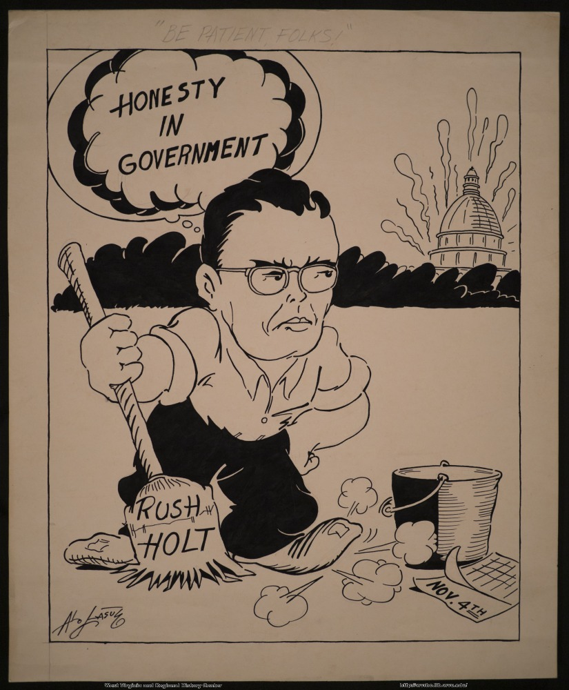 """Honesty in government"" (Rush Holt) (Nov. 4th)"